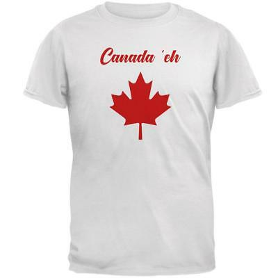 Canada Day Eh Pun Red Mens T Shirt