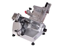 "Unused professional DELI SLICER 10"" heavy duty commercial machine"