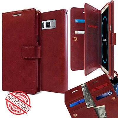 Dual Card Flip holder leather wallet lock Case for Galaxy Note 9 S10+ /iPhone XR Flip Lock Wallet