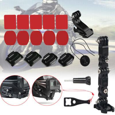 motorcycle helmet chin mount holder set full