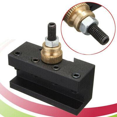 Mini Lathe Diy Turning Tool Post Holder Durable Quick Change Useful Facing Drill