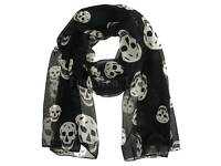 Brand New Black Skull Scarf