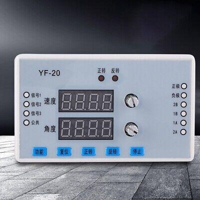 Dc 7-30v Digital Display Stepper Motor Speed Controller Governor Driver Control