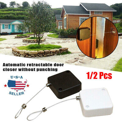 Punch-free Automatic Sensor Door Closer Portable Quality Home Office Doors Off