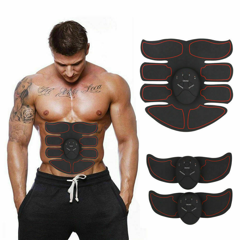 Smart Abs Stimulator Home Training Fitness Muscle Abdominal Toning Belt Exercise
