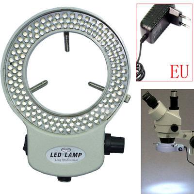 144led Adjustable Ring Light Illuminator For Stereo Microscope Part Eu Plug