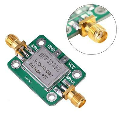 Lna 50-4000mhz Rf Low Noise Amplifier Signal Receiver Spf5189 Nf 0.6db Vhf Uhf