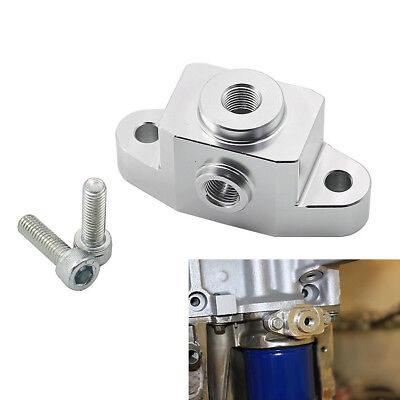 Engine Oil Pan Union Fitting Adapter For LS Engine