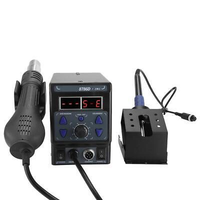 700w Digital Soldering Station Smd Rework Electric Solder Iron Desoldering