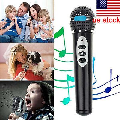 Child Girls Boys Microphone Mic Karaoke Singing Kids Funny Music Toy Gift - Microphone Toy