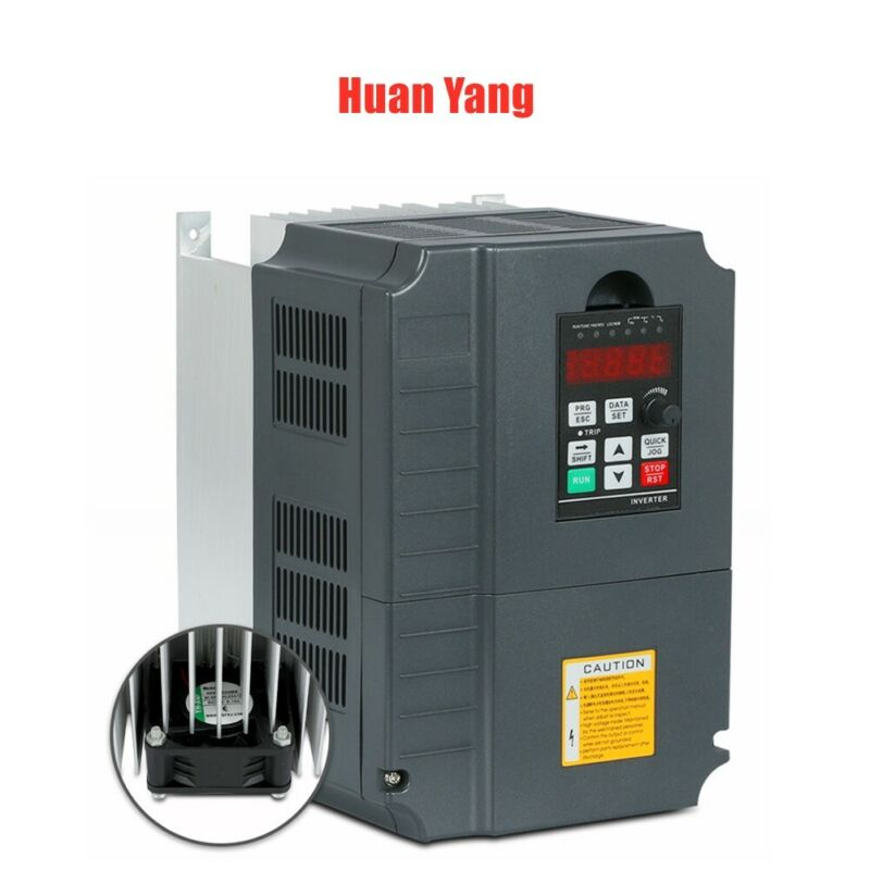 220V 10HP 7.5KW 34A VFD VARIABLE FREQUENCY DRIVE INVERTER for SPEED CONTROL USA