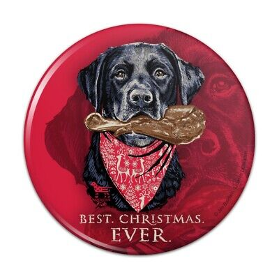 Best Christmas Ever Lab Dog Turkey Leg Compact Pocket Purse Hand Makeup