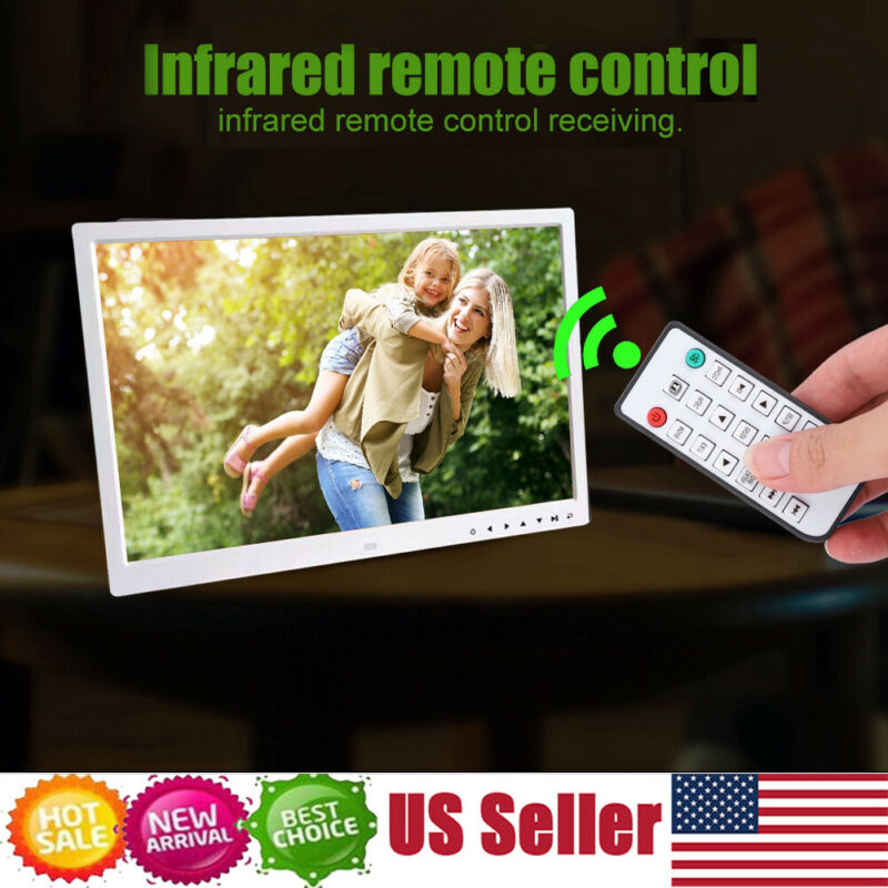 """17"""" Digital Photo Frame Electronic Picture Video Player Movie Album Dispaly"""