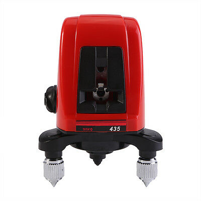 Ak435 360self-leveling Cross Laser Level 2 Line 1point 5mw Semiconductor Laser