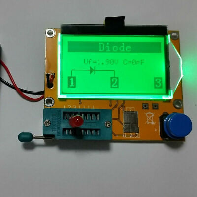 All-in-1 Digital Component Tester Transistor Diode Capacitor Inductor Esr Meter