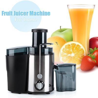 Electric Fruit Juicer Machine Orange Juice Citrus Extractor Maker Blender 110V