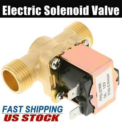 12-volt Dc 12v 12 Normally Closed Electric Solenoid Valve For Water Control Us