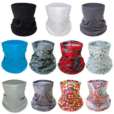 Bandana Face Neck Scarf Gaiter Mouth Mask Cover Reusable Pollution Protective Mg Clothing