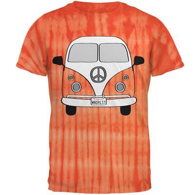 Halloween Travel Bus Costume Camper Wanderlust Mens T Shirt