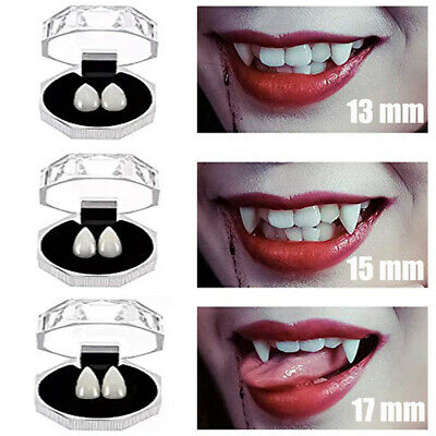 Vampire Teeth Caps (3 Pairs Funny Halloween Vampires Zombie Werewolf Fangs Teeth Cap Cosplay Prop)