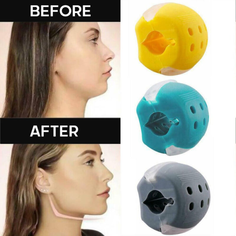 Facial Toner /& Exerciser Levels 1 Jaw Exercise 2 3| Jaw Line Jawline Trainer