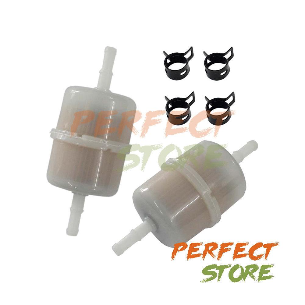 """2Pcs 1//4/"""" Fuel Filter For Kohler 24-050-02-S 24050-10-S 24-050-13-S Engines"""