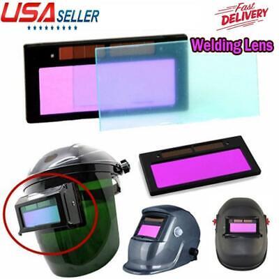 4-14 X 2 Solar Auto Darkening Welding Helmet Lens Filter Shade Us