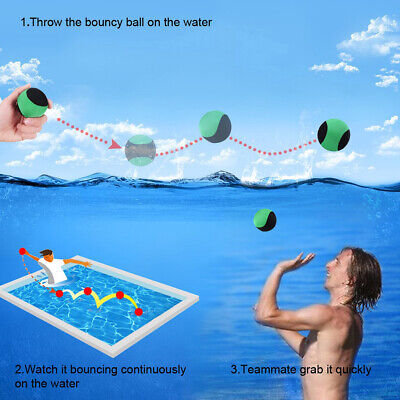 Elastic TPR Water Bouncing Ball Beach Ocean Surf Sport Swimming Float Toy Well Outdoor Toys & Structures