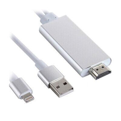 P03C 200cm Light Ning Dock + USB A Av HDMI HDTV TV...