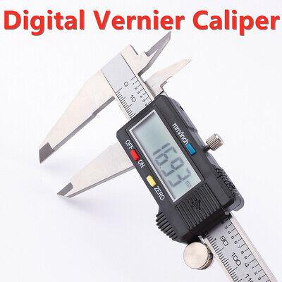 8inch Electronic Digital Lcd Caliper Vernier Gauge Micrometer Metal Housed 200mm