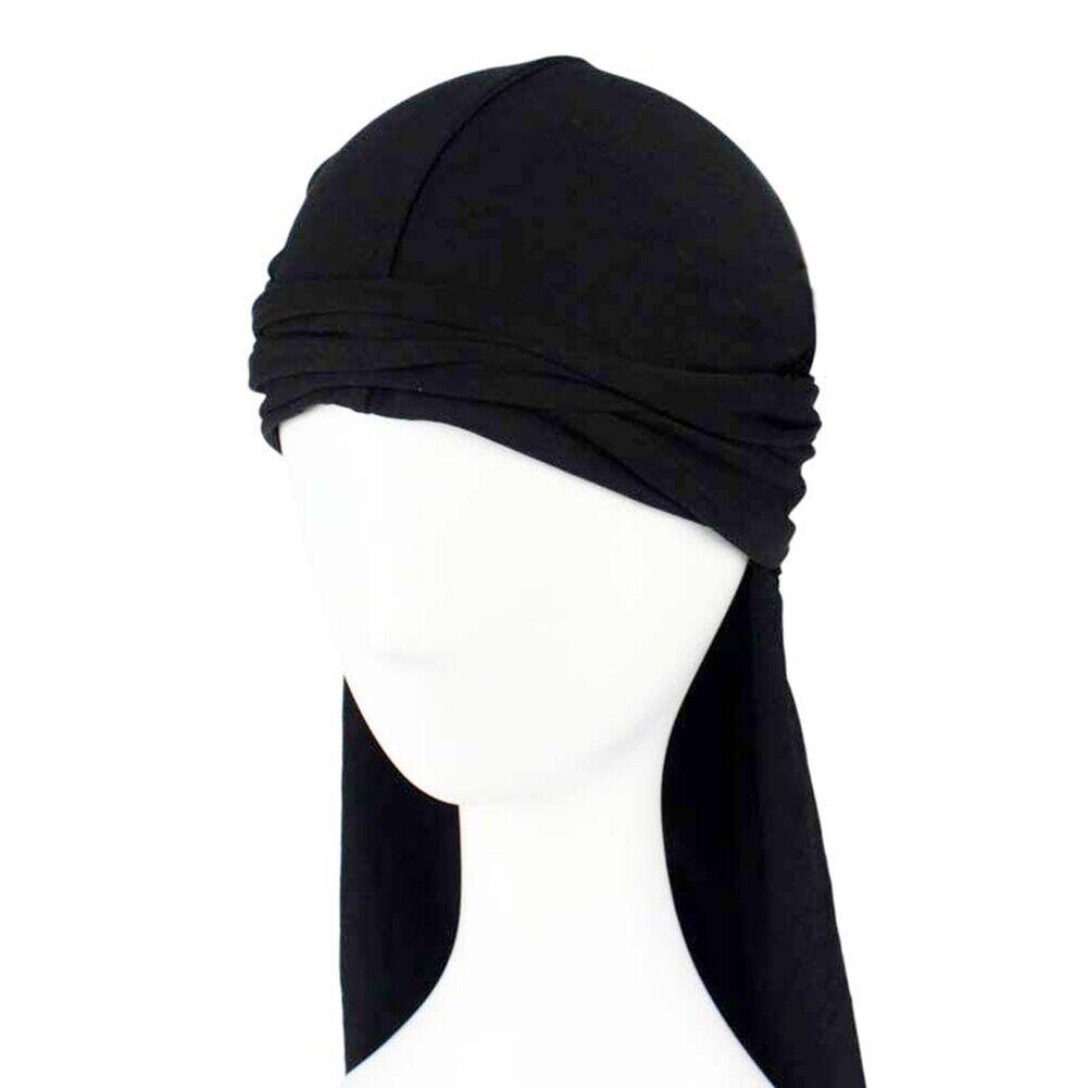 Men Durag Bandanna Sports Du Rag Scarf Head Rap Tie Cap- M1S