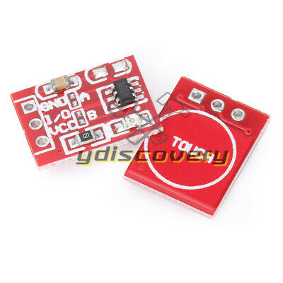 10pcs Ttp223 Capacitive Touch Switch Button Self-lock Module Component Arduino