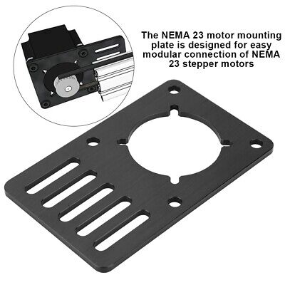 Nema23 Stepper Motor Cnc Mounting Plate Motor Fixed 3d Printer Accessories Ms