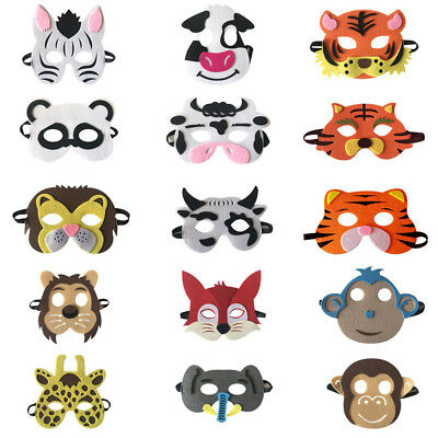 Children Halloween Masks Cute Animal Masquerade Party Costume Cosplay Prop