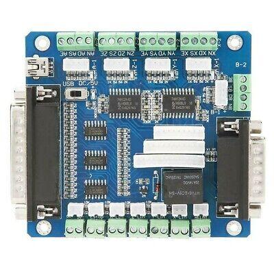 5-axis Stepper Motor Driver Interface Breakout Board Controller Cnc Mach3