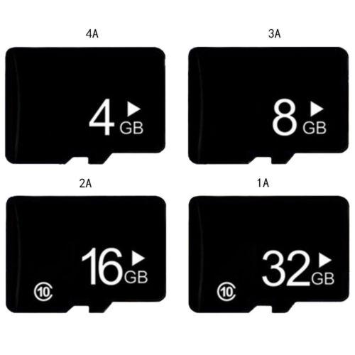 4GB/8GB/16GB/32GB Ultra SD SDHC TF Flash Memory Card Fast Class10 + SD Adapter
