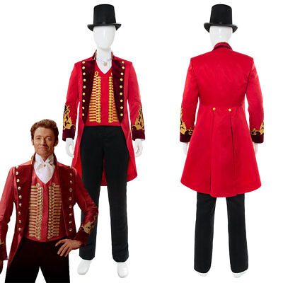 The Greatest Halloween Costumes (The Greatest Showman P.T. Barnum Cosplay Costume Suit Uniform Outfit)