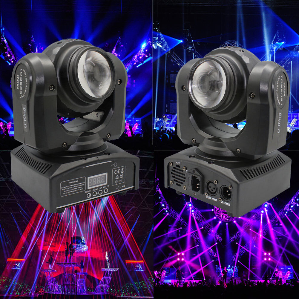 4pcs 50w Double Side Beam Led Moving Head Stage Lighting