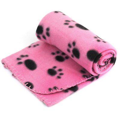 New Pet Touch Soft Fleece Pet Blanket Dogs & Puppy Blanket & Cat Blanket Pink US