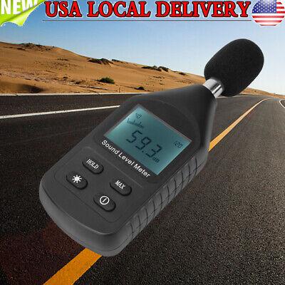 Lcd Digital Sound Pressure Level Meter Decibel 30-130db Noise Measurement