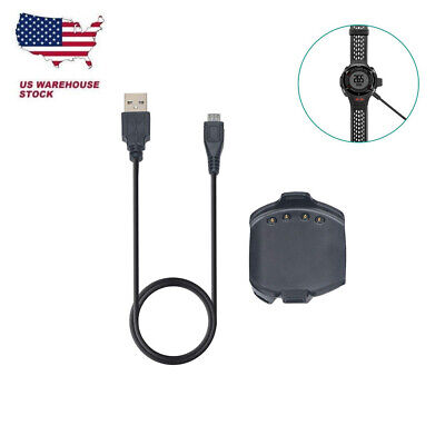 USB Charging Charger Data Cable Clip for Garmin Approach S2/S4 GPS Golf Watch