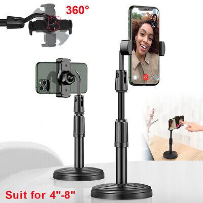 Adjustable Universal Cell Mobile Phone Stand Desktop Holder Desk Selfie Tripod