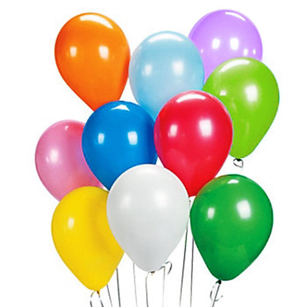 "12"" Birthday Wedding Party Decor Latex Helium Quality Balloo"