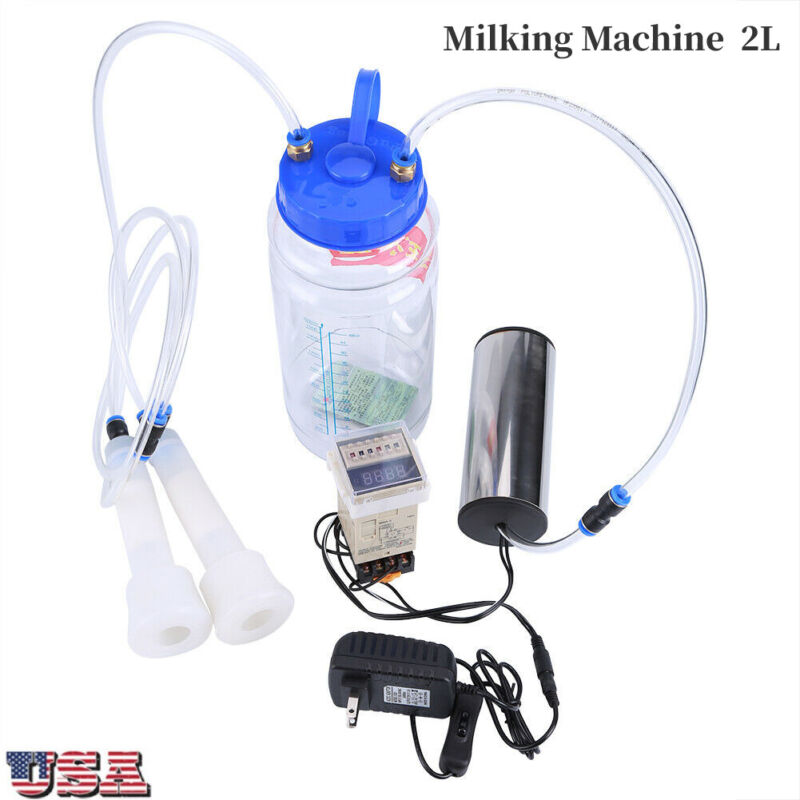 2L Portable Electric Milking Machine Goat Pulse Controller