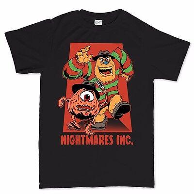 Nightmares Inc Halloween Monsters Freddy Krueger Mens Kids Claws Mask T shirt - Kids Freddy Krueger Mask