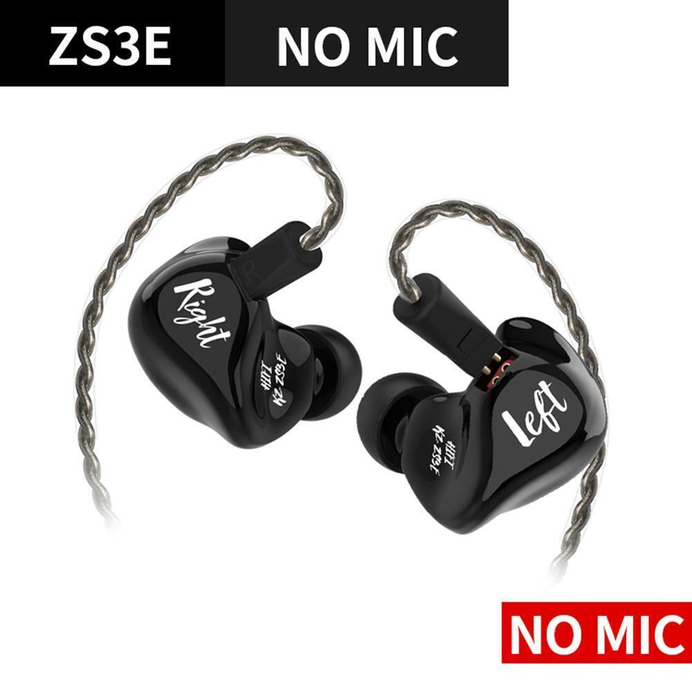 KZ ZS3E In-ear Earphones Dynamic HiFi Music Stereo Sport Noi