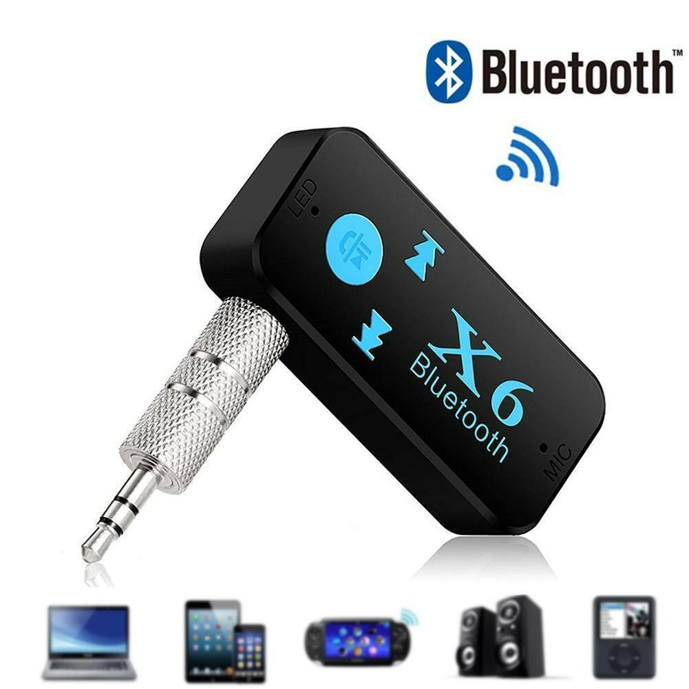 Bluetooth Adapter 3in1 Wireless 4.0 USB Receiver 3.5mm Jack