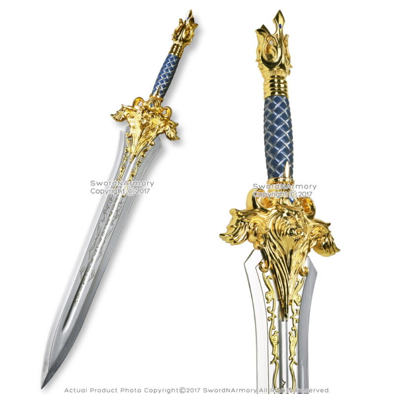 "29.5"" Fantasy King Great Lion Sword with Detailed"