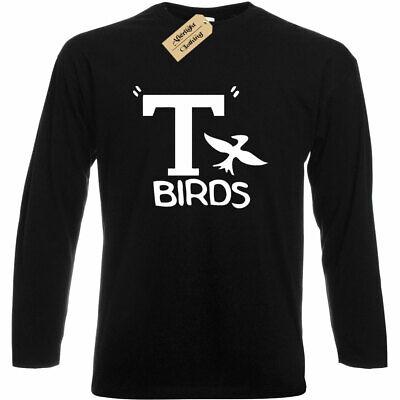 Herren T Birds T-Shirt Grease Kostüm Top Geschenk - T Birds Grease Kostüm