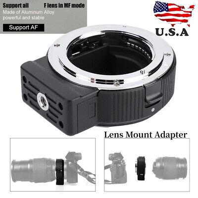 Commlite ENF-E1 PRO V06 Lens Mount Adapter for Nikon F Lens to Sony E-mount US